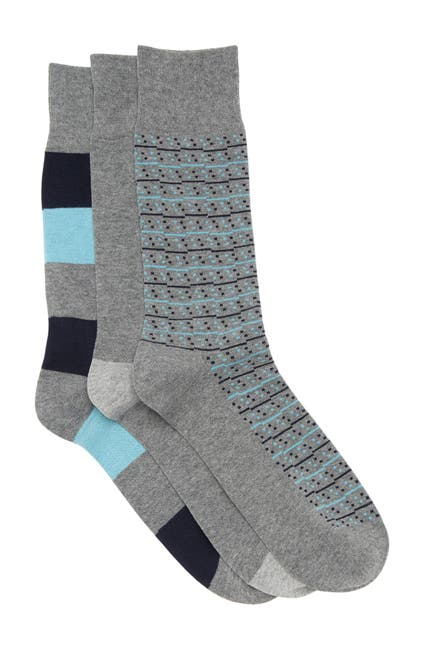 Image of Nordstrom Crew Socks - Pack of 3