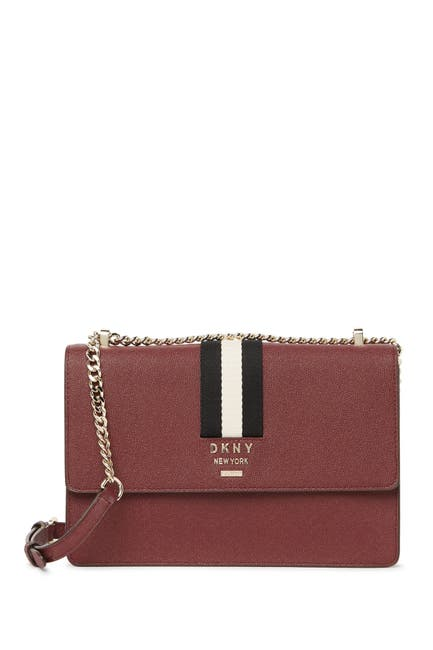 Image of DKNY Liza Medium Leather Crossbody Bag