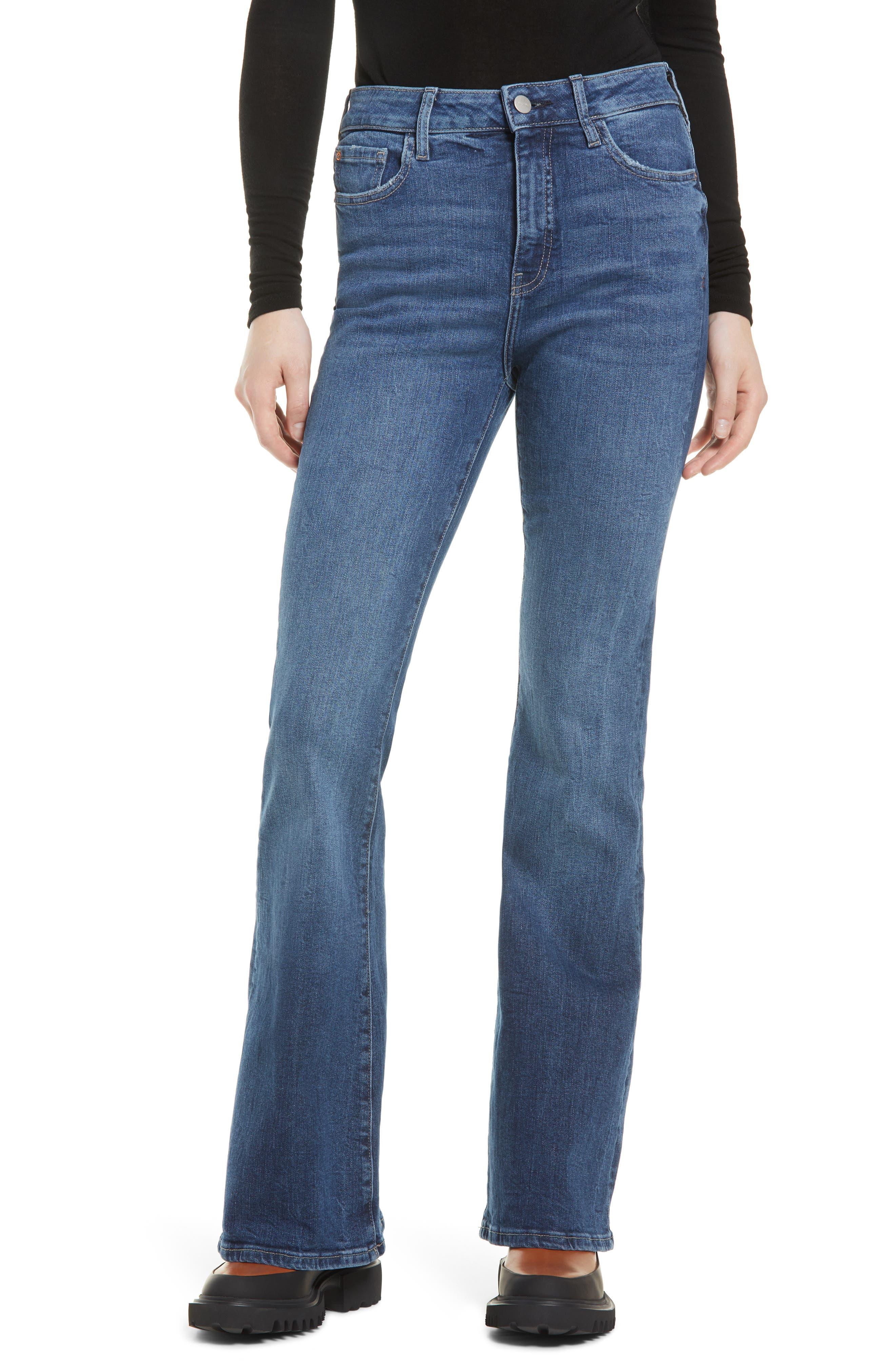Women's Warp+Weft Mia High Waist Flare Jeans