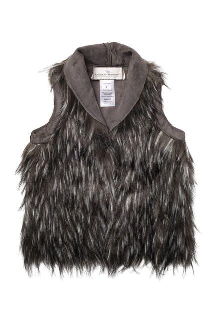 Image of WIDGEON Reversible Faux Fur Vest