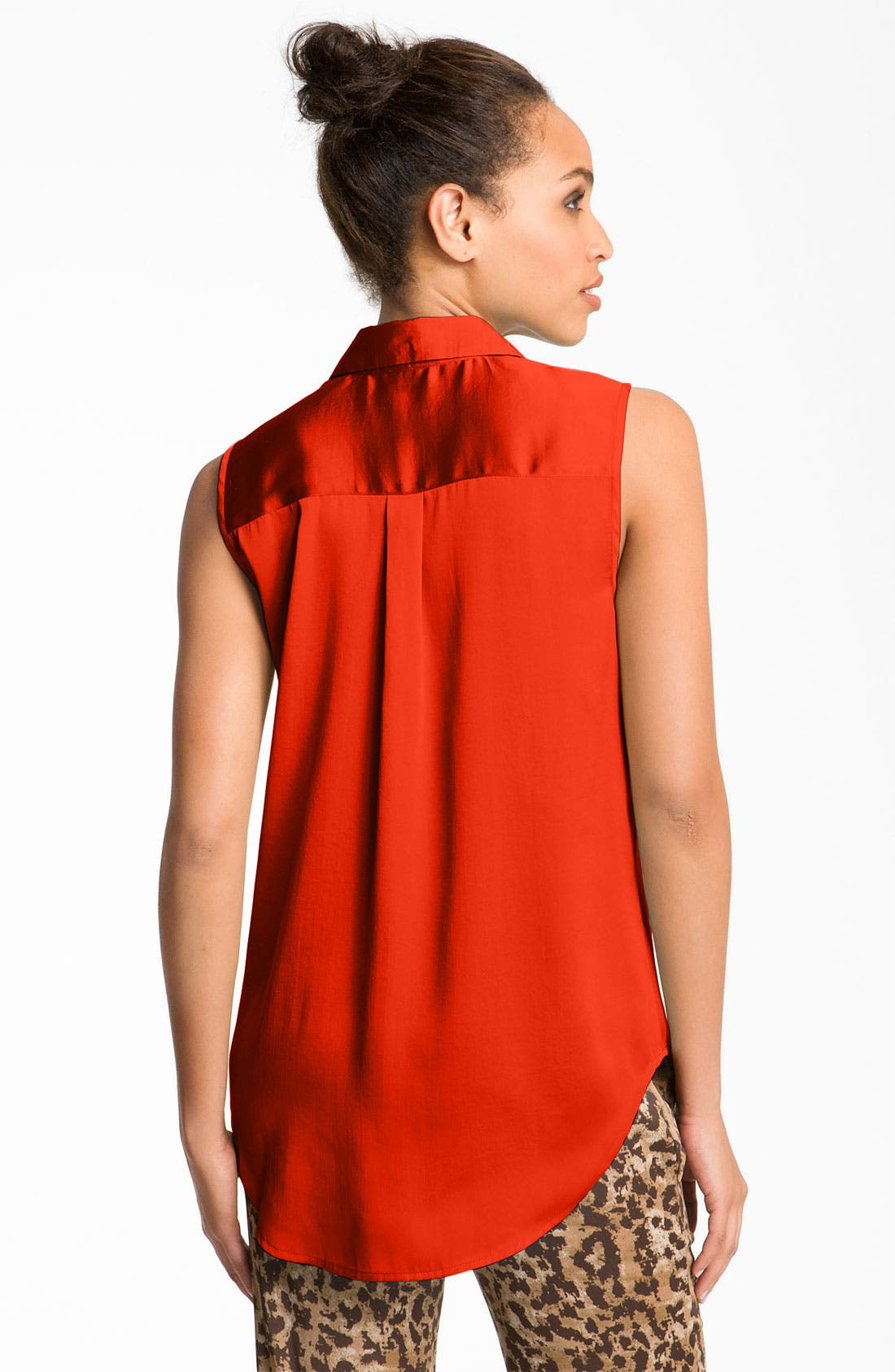 ,                             Sleeveless Shirt,                             Alternate thumbnail 9, color,                             950