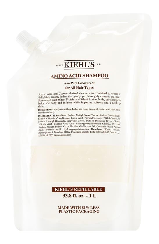 Kiehl's Since 1851 1851 Amino Acid Shampoo, 33.8 oz In Refill