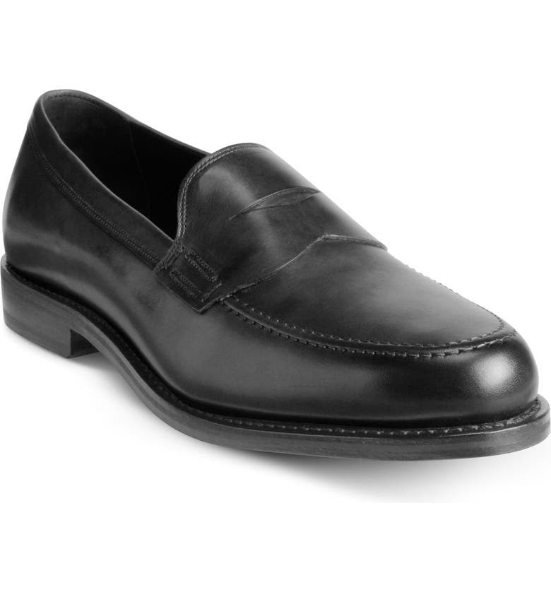 ALLEN EDMONDS Wooster Street Venetian Penny Loafer, Main, color, BLACK