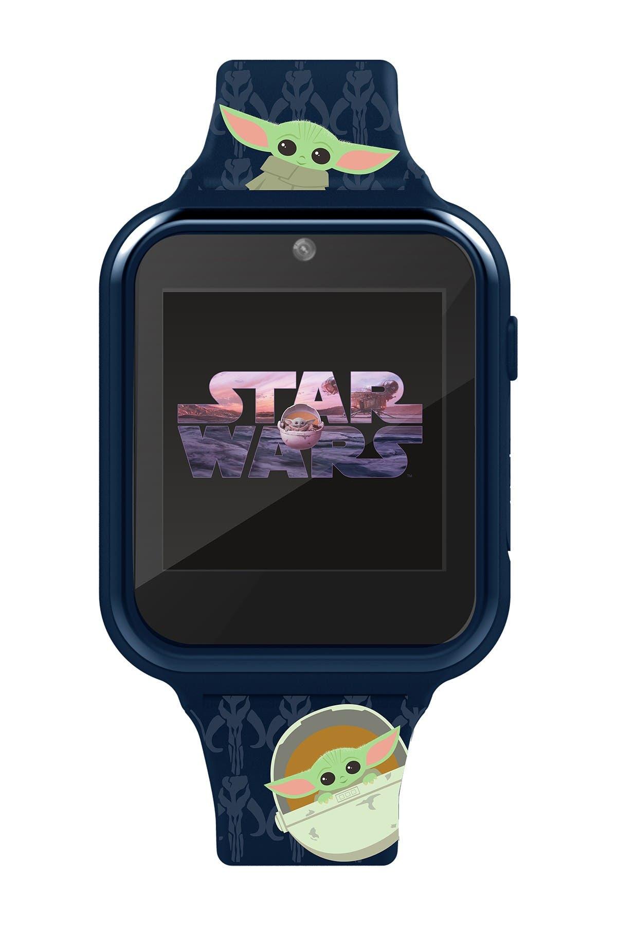 Image of ACCUTIME Mandalorian/ Baby Yoda- iTime Kids Smart Watch