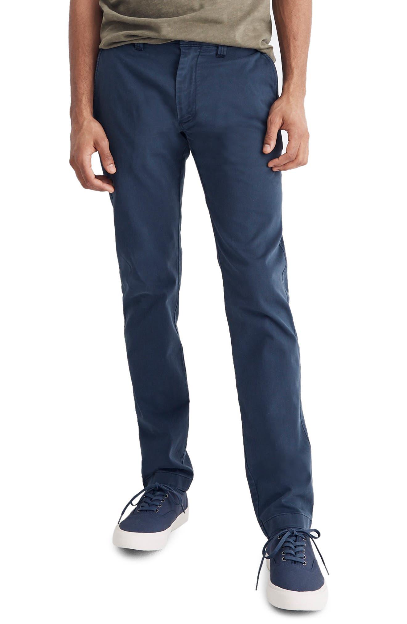 Madewell Penn Slim Fit Chino Pants - Blue