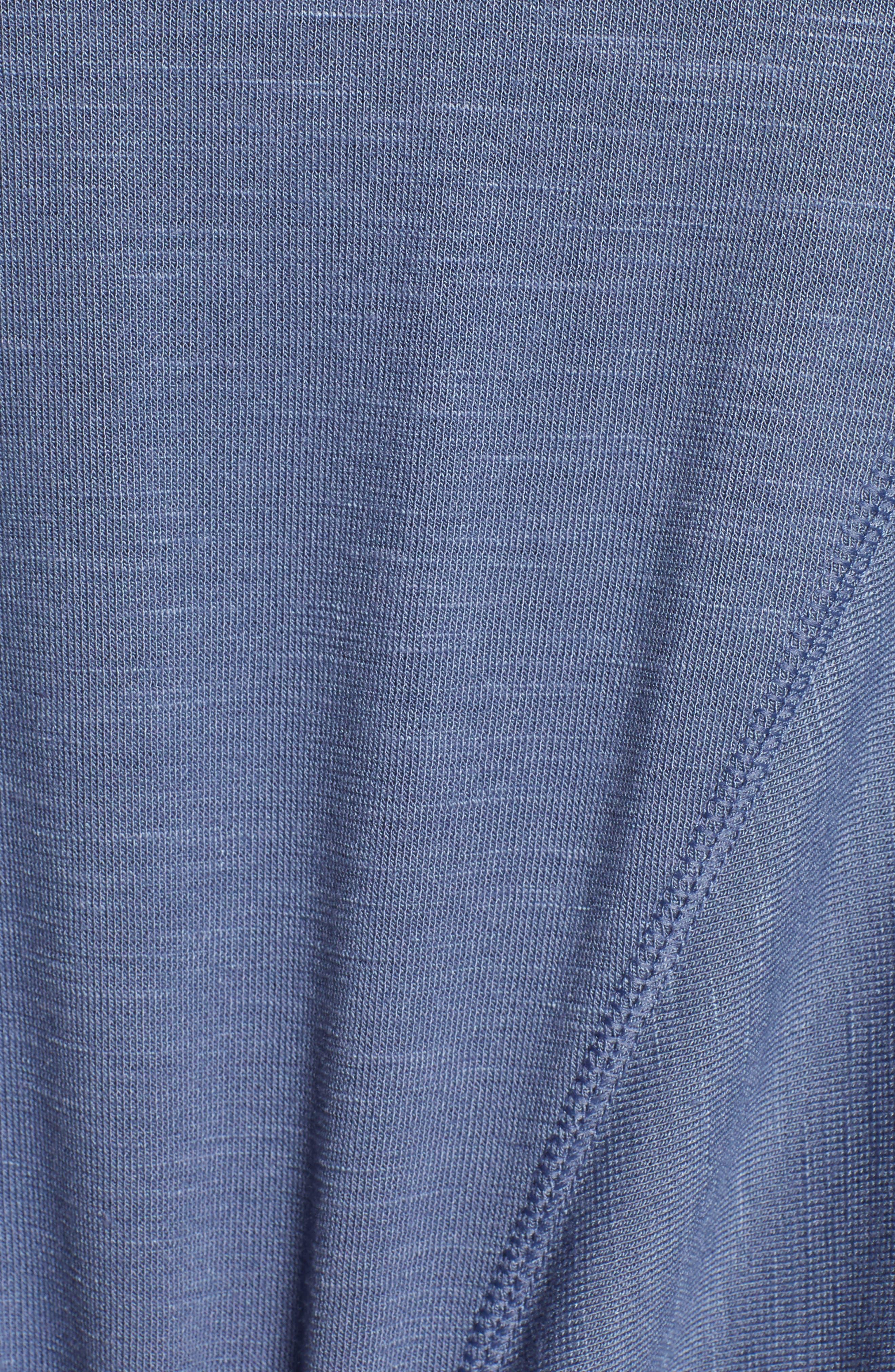 ,                             Twisty Turn Tee,                             Alternate thumbnail 6, color,                             BLUE VINTAGE