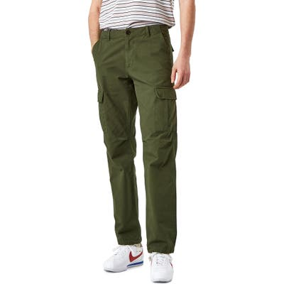 Wax London Ripstop Cargo Pants, Green