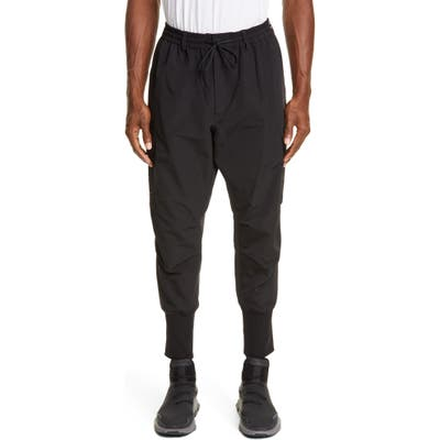 Y-3 Cargo Sweatpants, Black