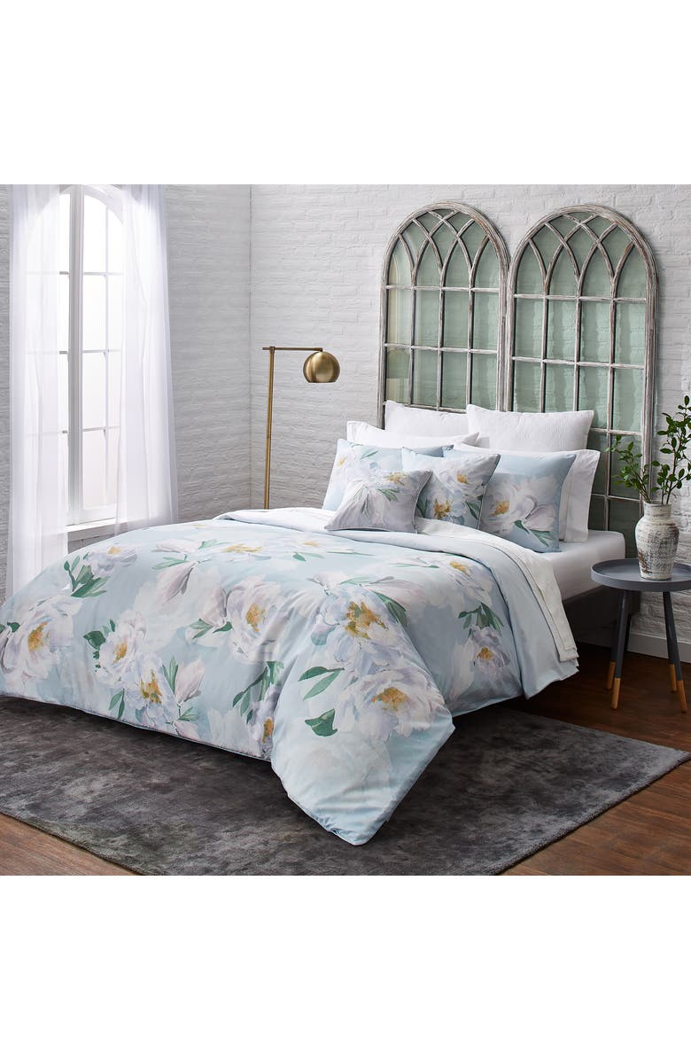TED BAKER LONDON Wilderness Comforter & Sham Set, Main, color, BLUE