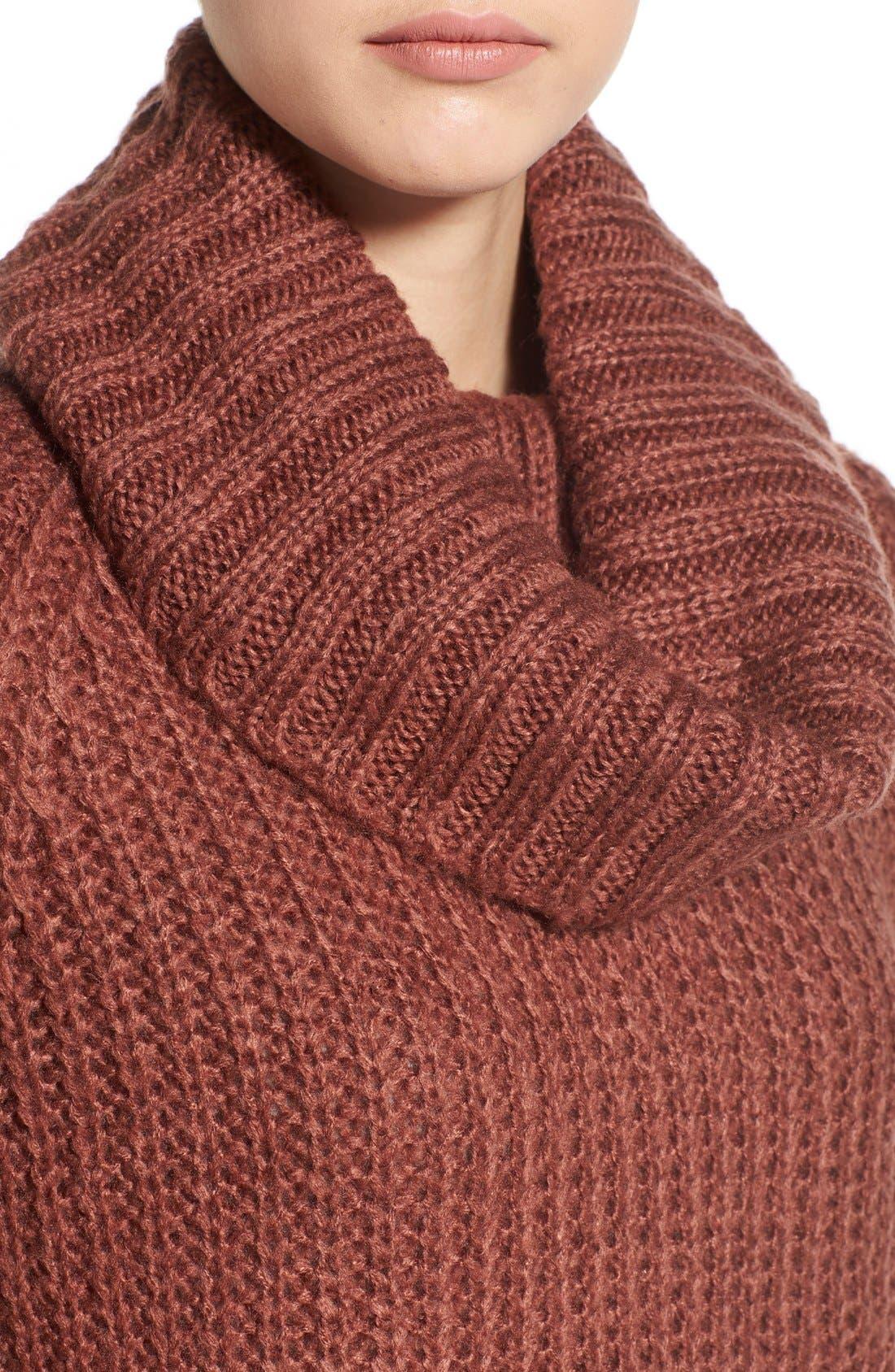 ,                             Cowl Neck Sweater,                             Alternate thumbnail 34, color,                             600