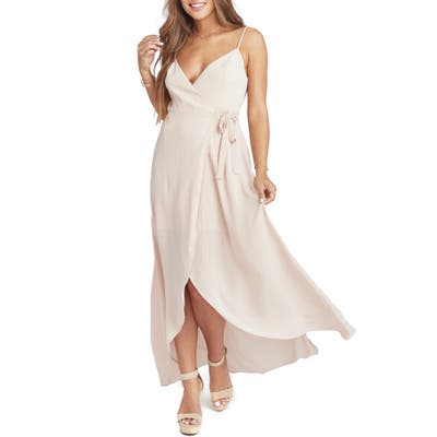 Show Me Your Mumu Mariah Wrap Maxi Dress, Pink