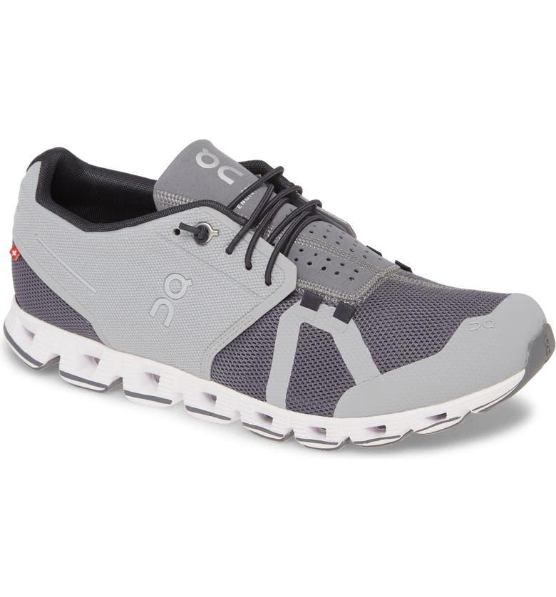 ON Cloud Running Shoe, Main, color, SLATE/ ROCK