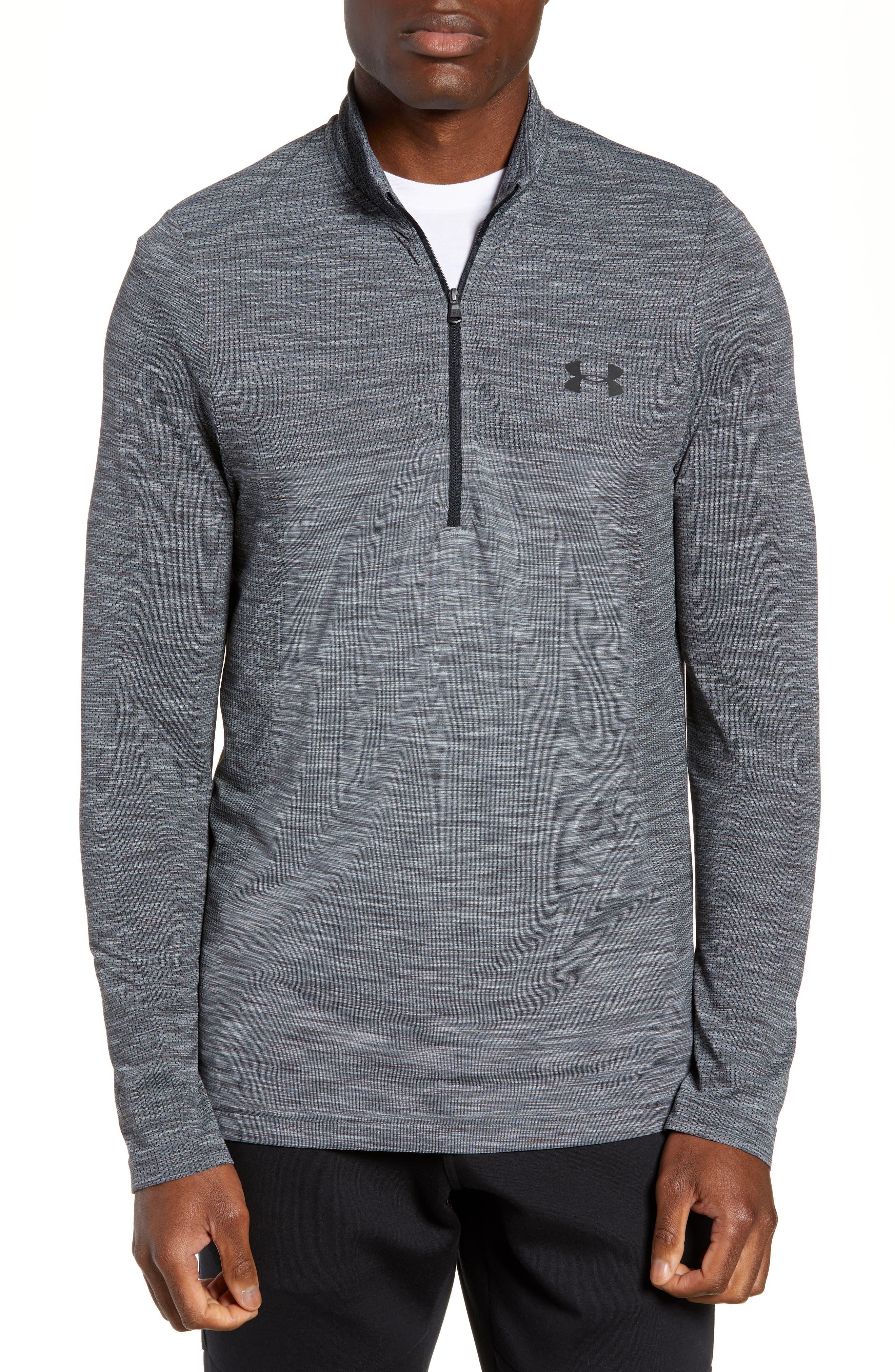 Siphon Regular Fit Half-Zip Pullover, Main, color, STEEL