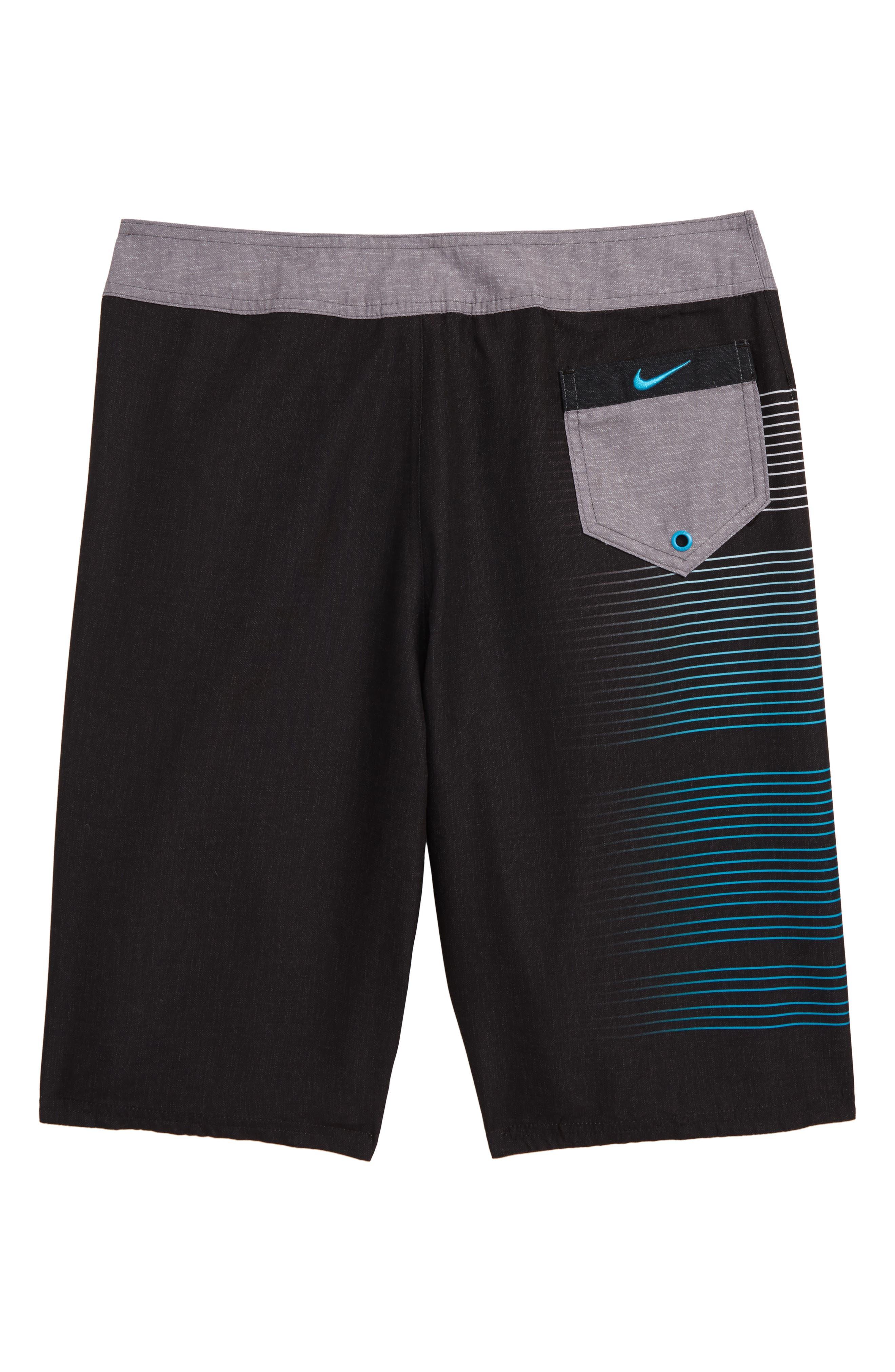 ,                             Just Do It Drift Board Shorts,                             Alternate thumbnail 2, color,                             BLACK