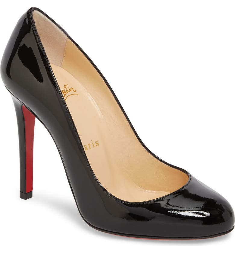 CHRISTIAN LOUBOUTIN Fifille Pump, Main, color, 001
