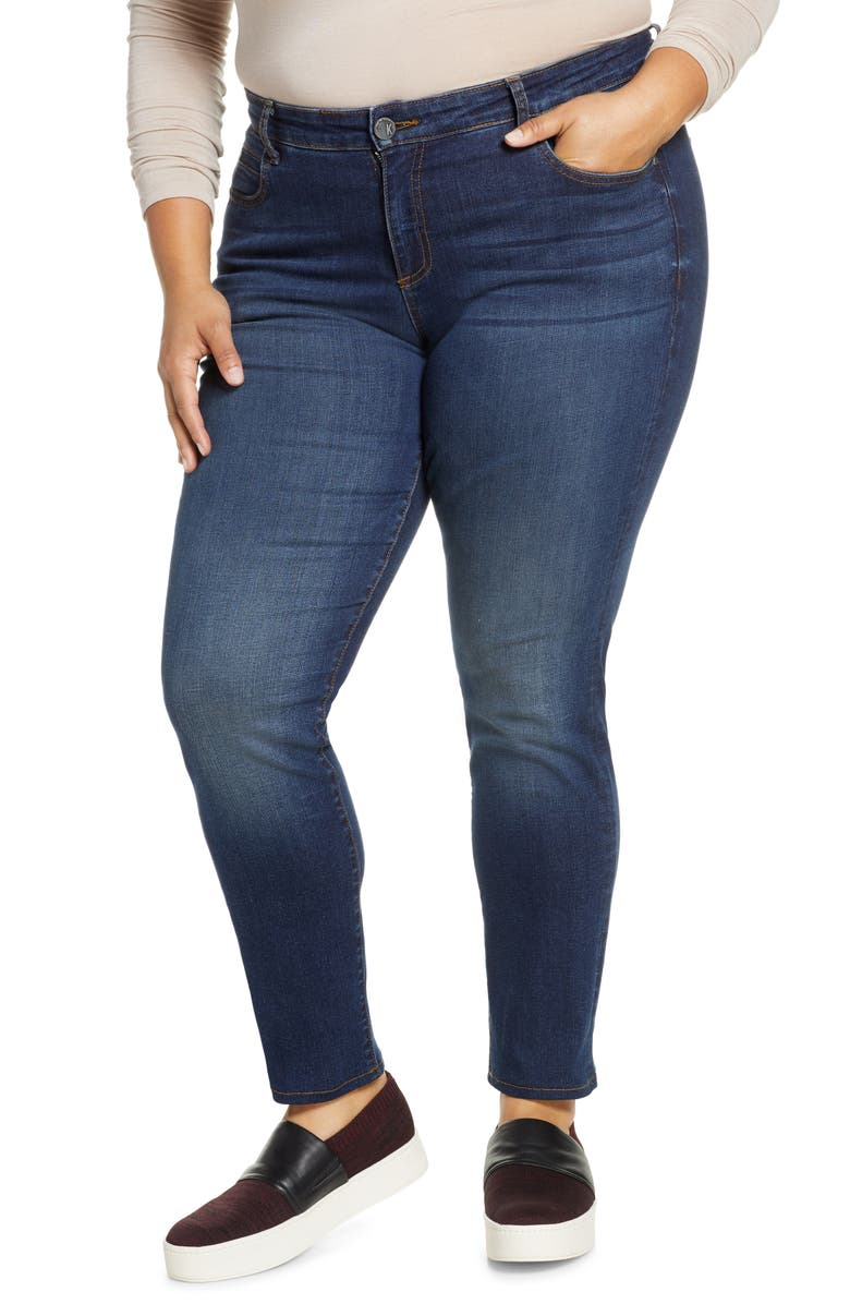 KUT FROM THE KLOTH Diana Skinny Jeans, Main, color, CARING