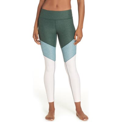 Outdoor Voices Springs Ankle Leggings, Green