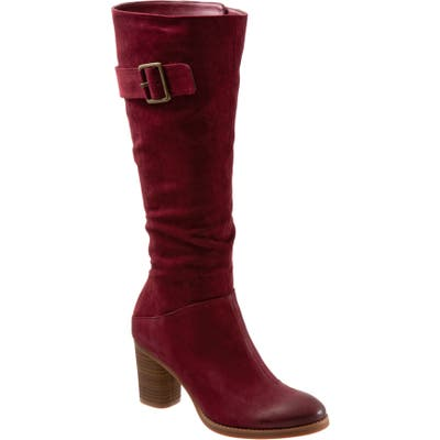 Softwalk Know Tall Boot- Burgundy