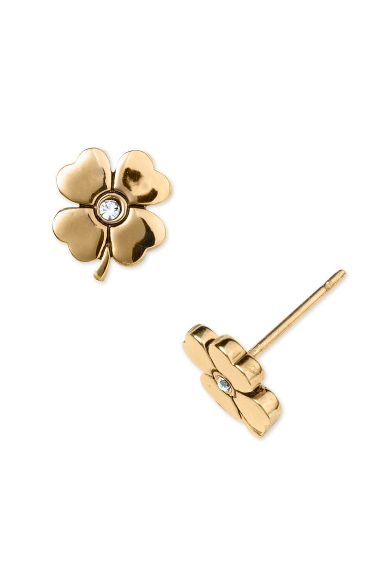 JUICY COUTURE Anchor Stud Earrings, Main, color, 710