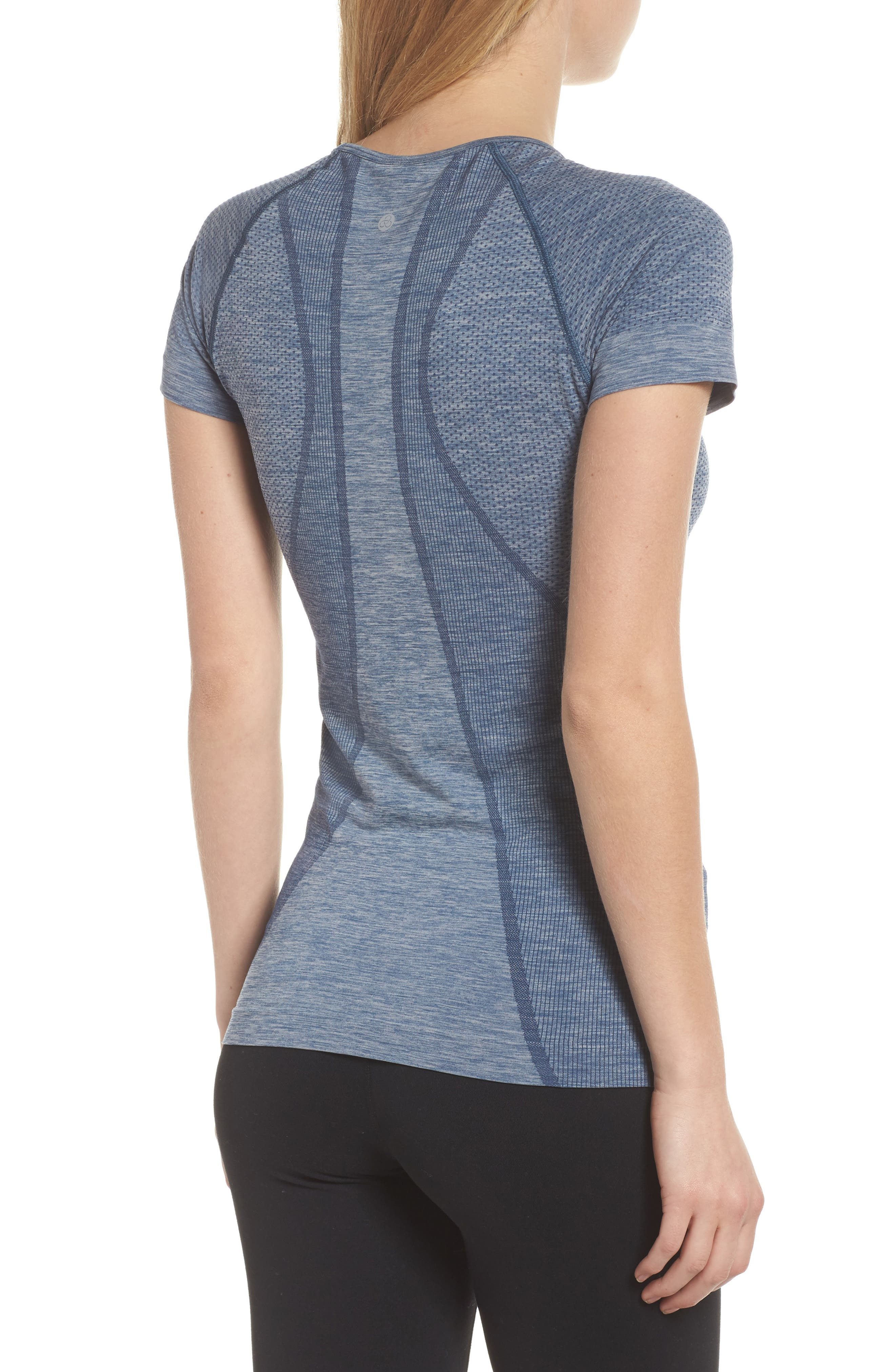 ,                             Stand Out Seamless Training Tee,                             Alternate thumbnail 9, color,                             401