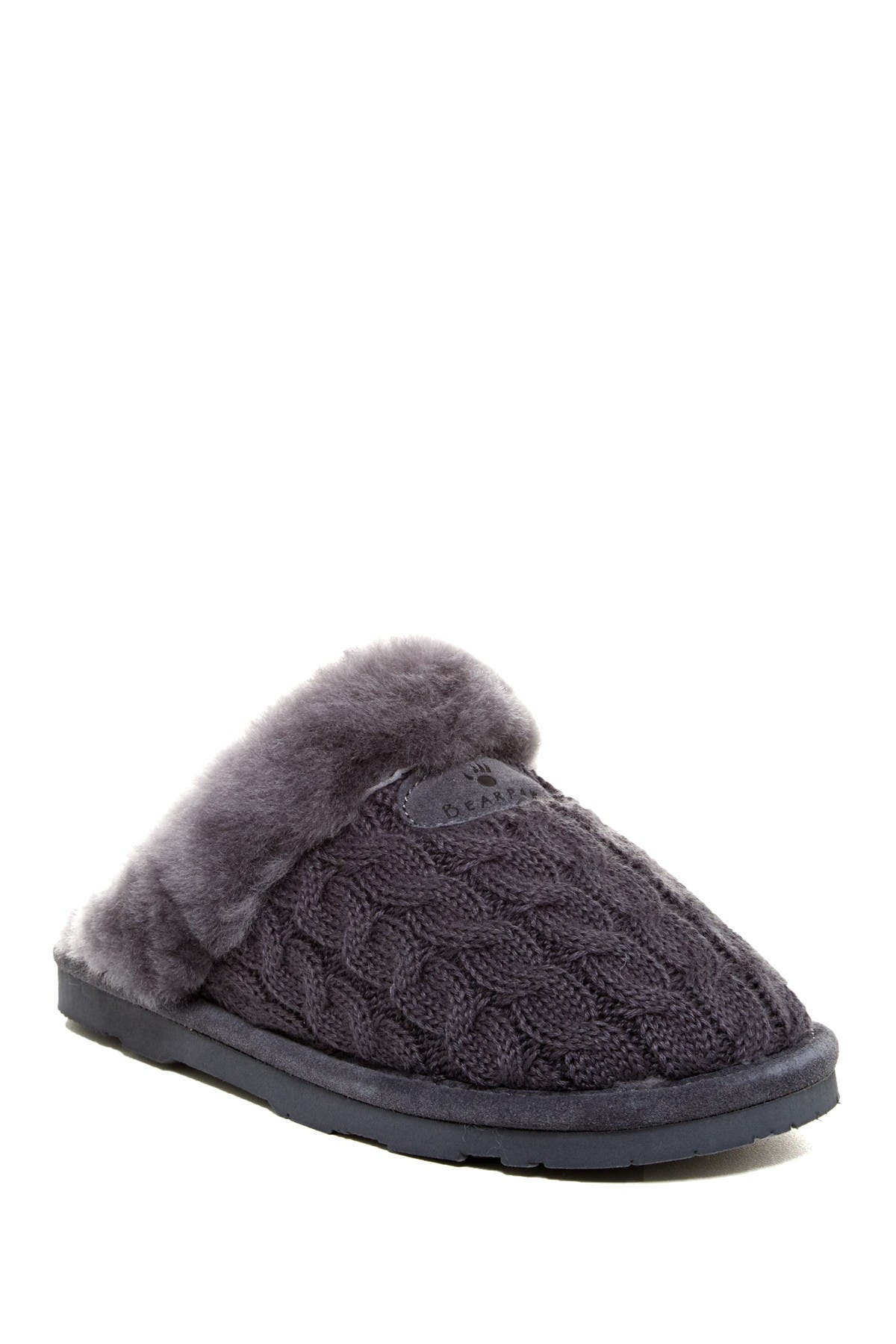 Image of BEARPAW Effie Genuine Sheepskin Fur Lined Slipper