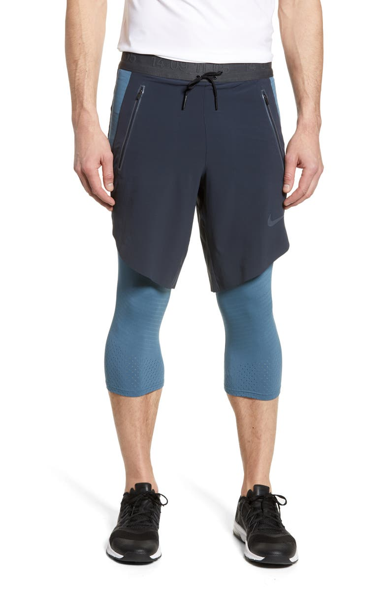 NIKE Tech Pack Layered Running Pants, Main, color, 475