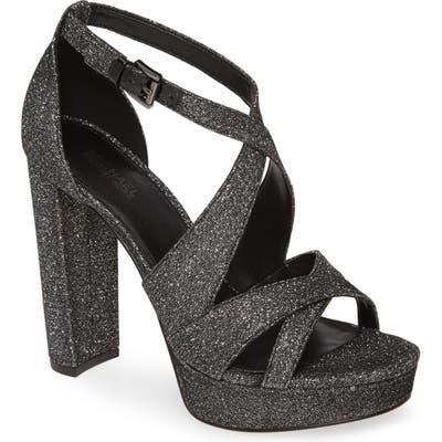 Michael Michael Kors Lorene Platform Sandal- Black