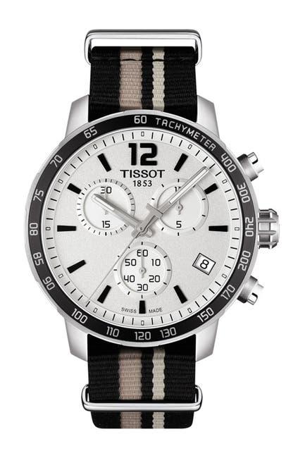 Image of Tissot Men's Quickster Nylon Strap Watch, 42mm