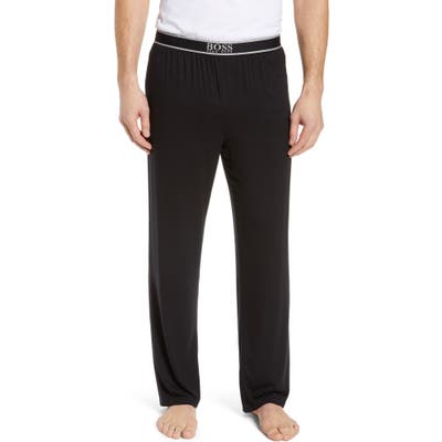 Boss Micromodal Pajama Pants, Black