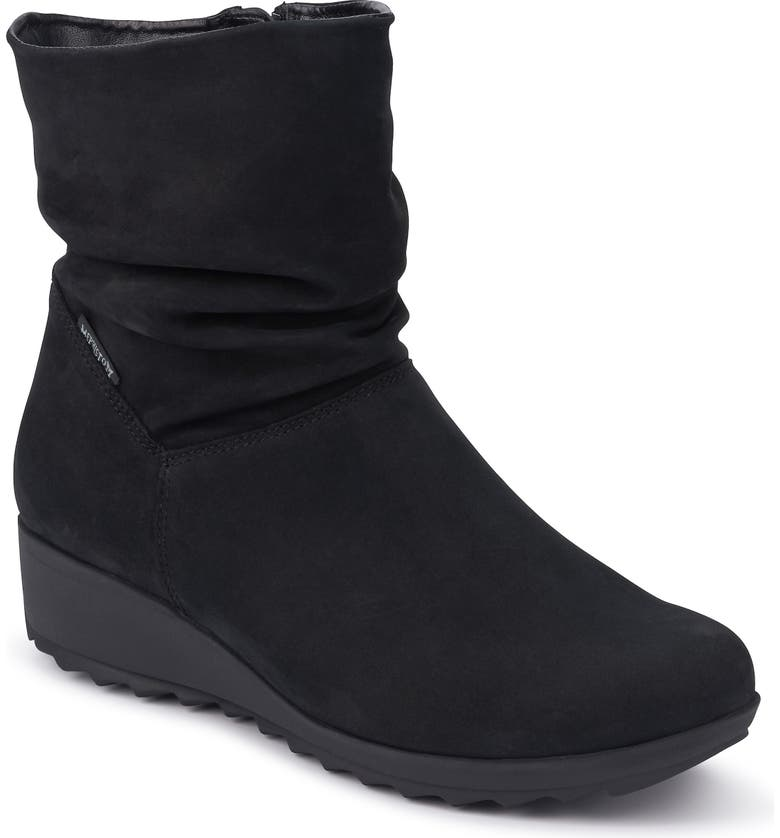 MEPHISTO Agatha Bootie, Main, color, BLACK LEATHER