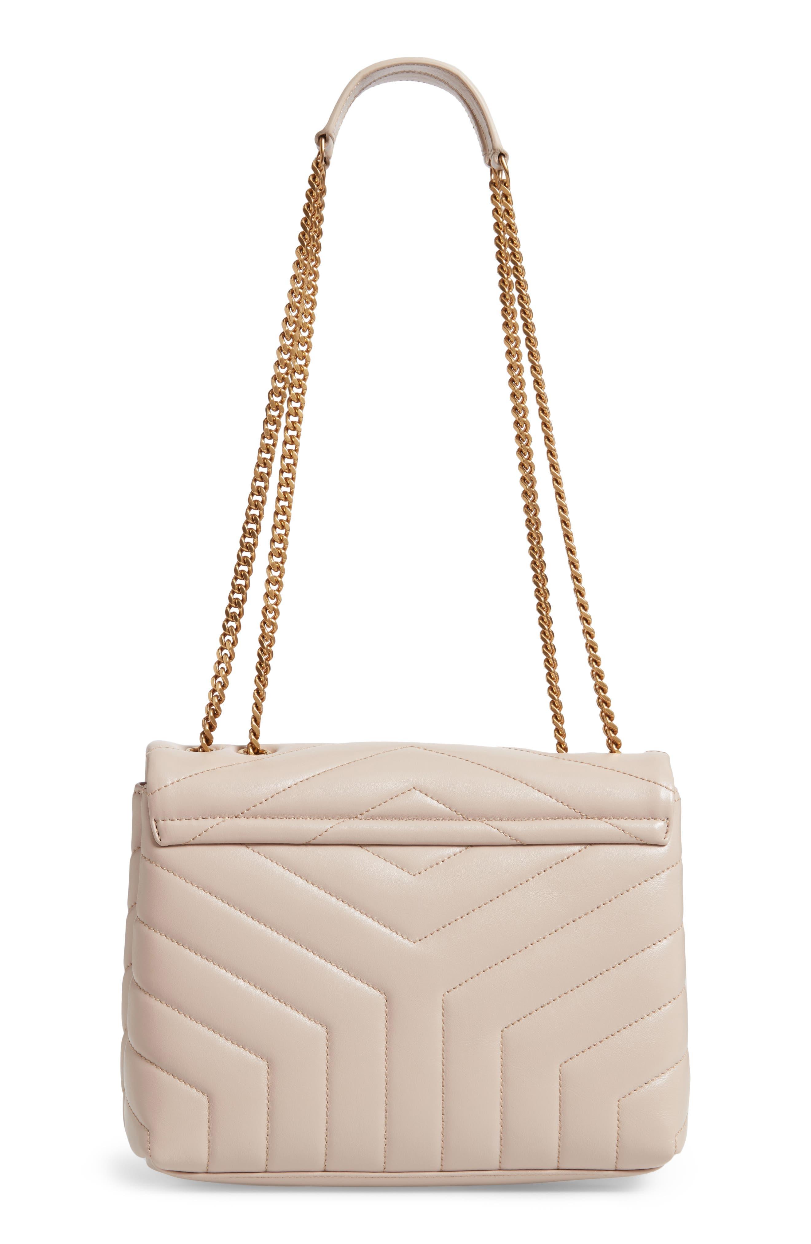,                             Small Loulou Leather Shoulder Bag,                             Alternate thumbnail 8, color,                             250
