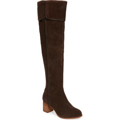 Coconuts By Matisse Over The Knee Boot- Brown