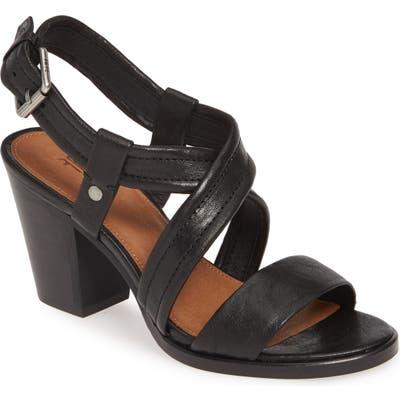 Frye Dani Crisscross Sandal- Black