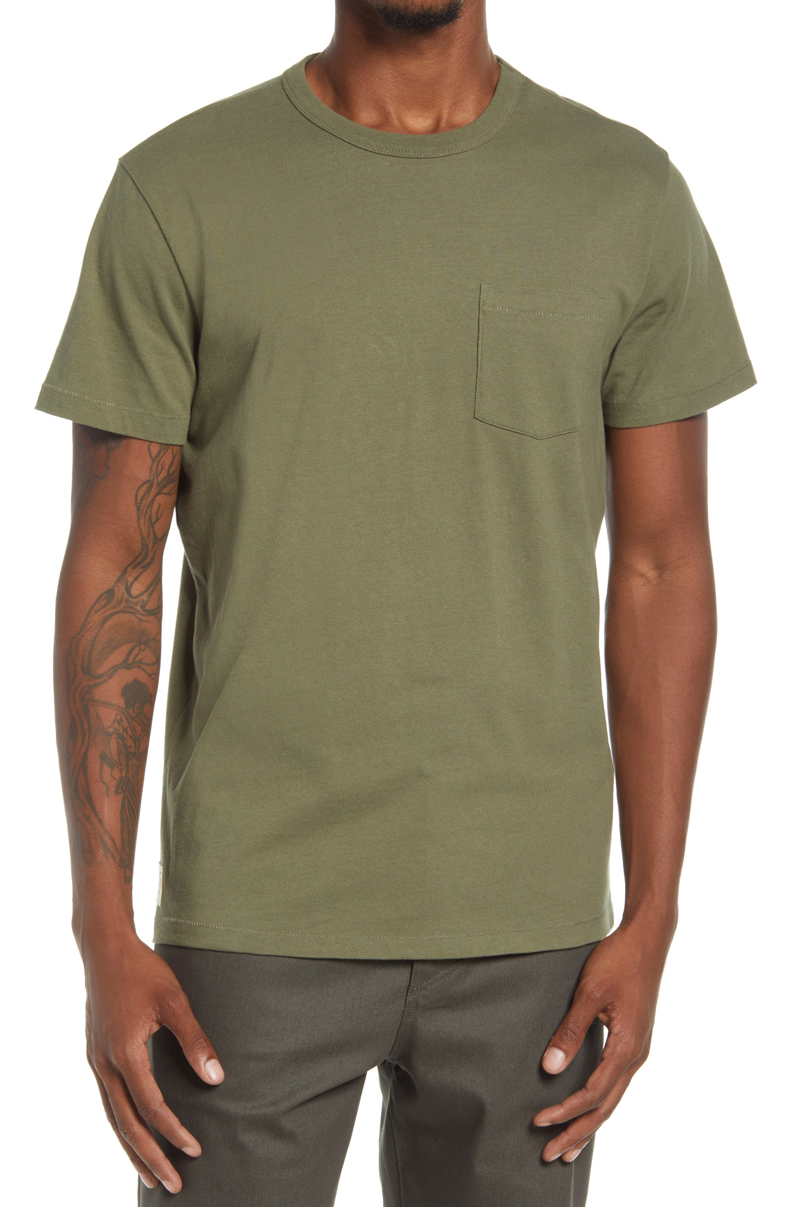 Every Damn Day Pocket Organic Cotton T-Shirt
