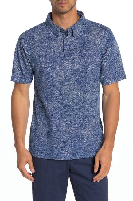 Image of COASTAORO Laga Knit Short Sleeve Polo