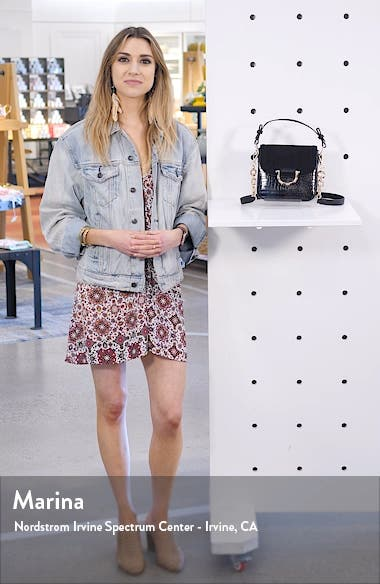 Carrie Croc Shoulder Bag, sales video thumbnail