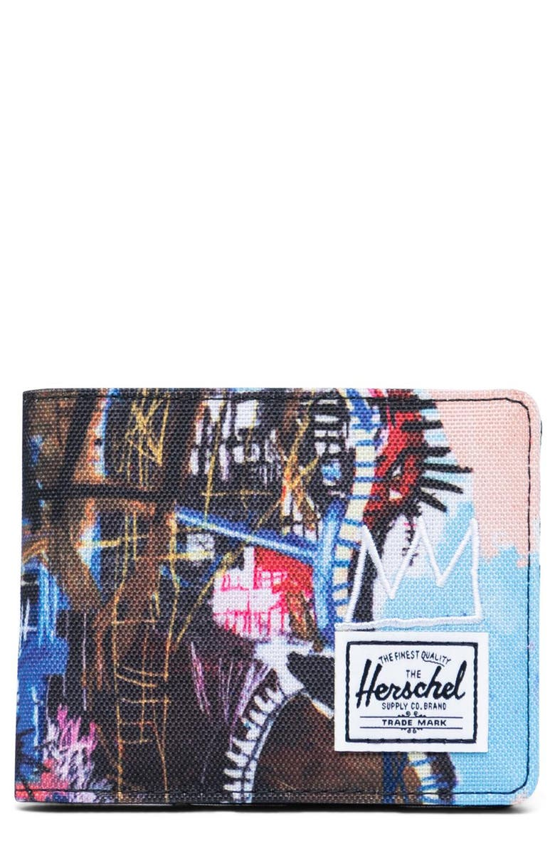 HERSCHEL SUPPLY CO. Basquiat Roy RFID Wallet, Main, color, 154