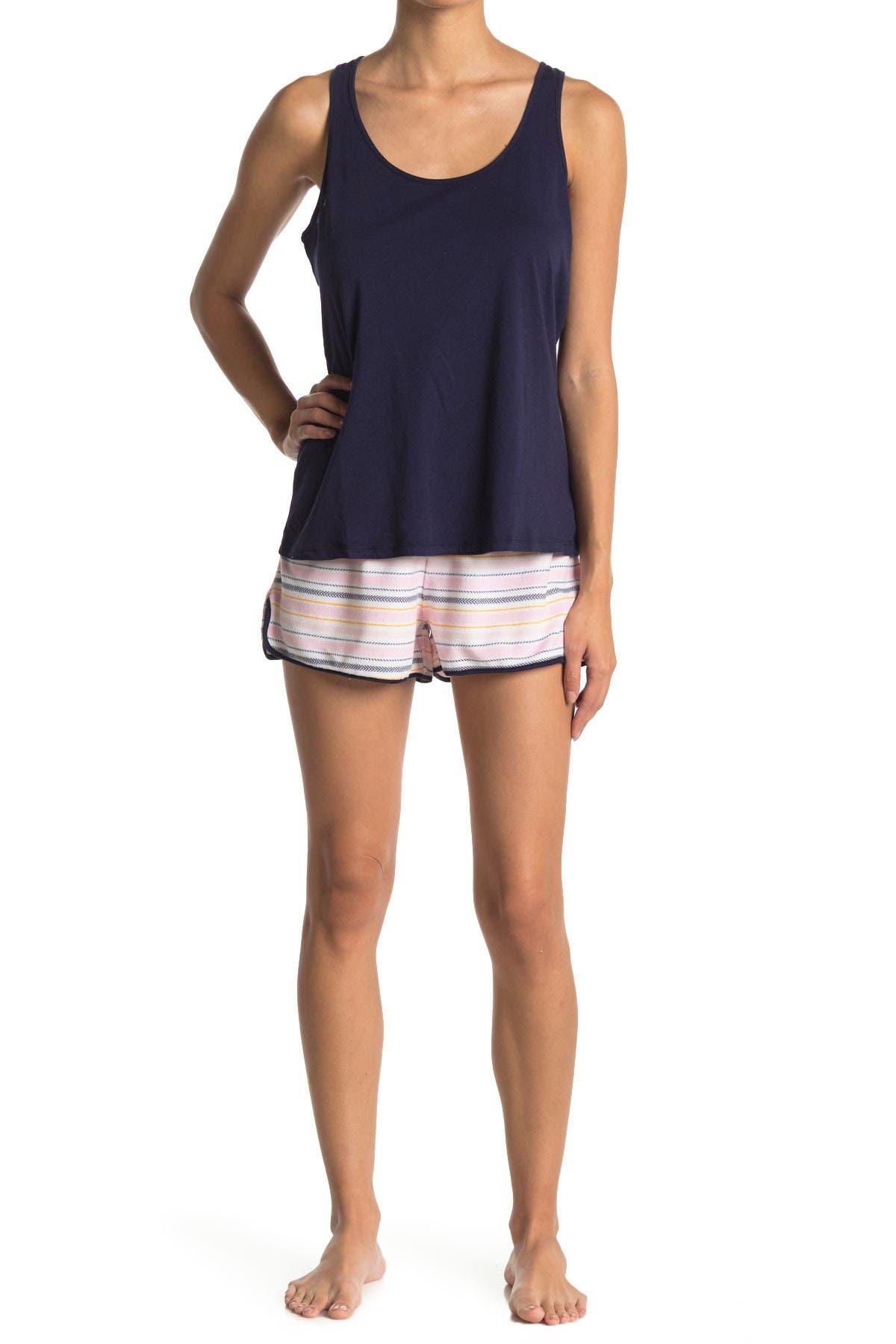 Image of Jane & Bleecker New York Top & Shorts 2-Piece Pajama Set