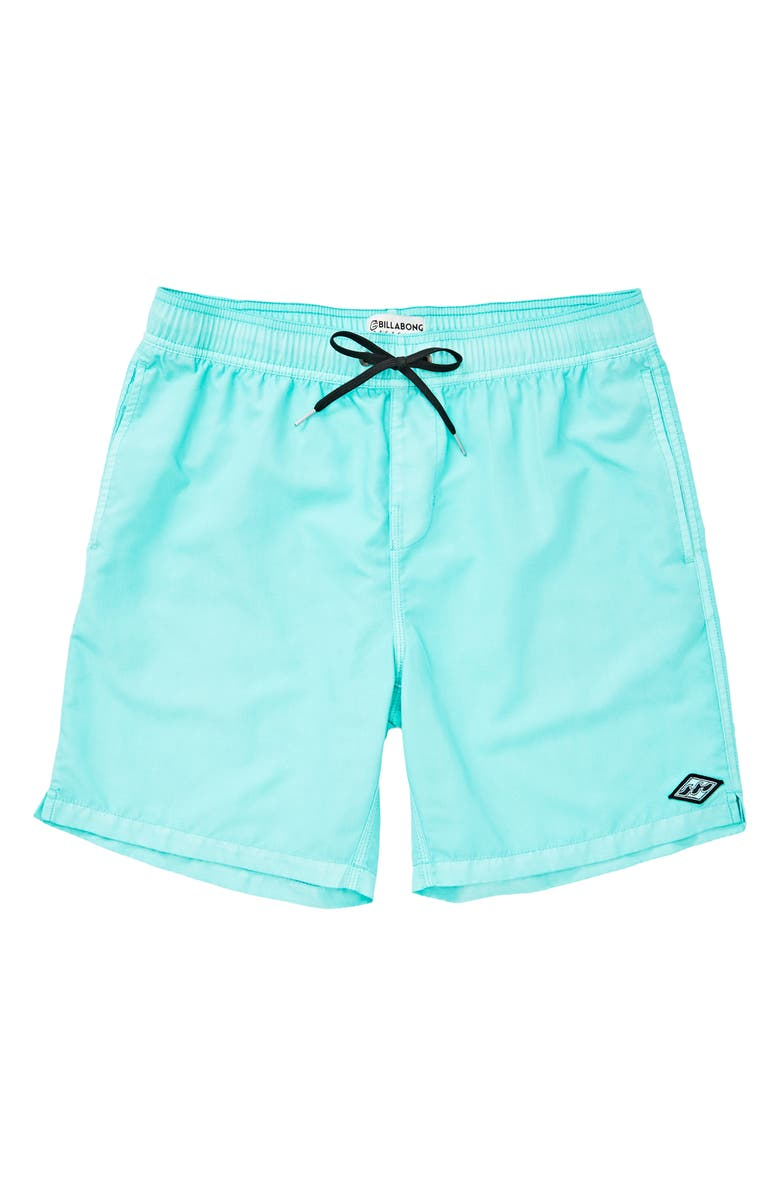 BILLABONG All Day Layback Board Shorts, Main, color, FOAM