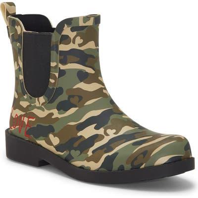 Ed Ellen Degeneres Wallita Rain Boot, Green