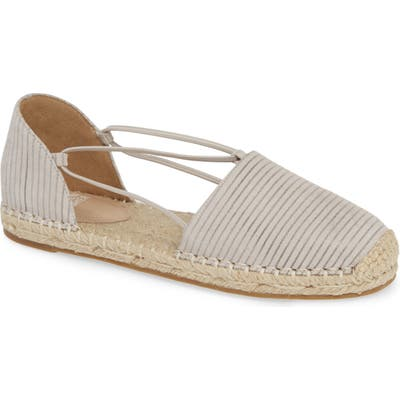 Eileen Fisher Lee Espadrille Flat, Grey
