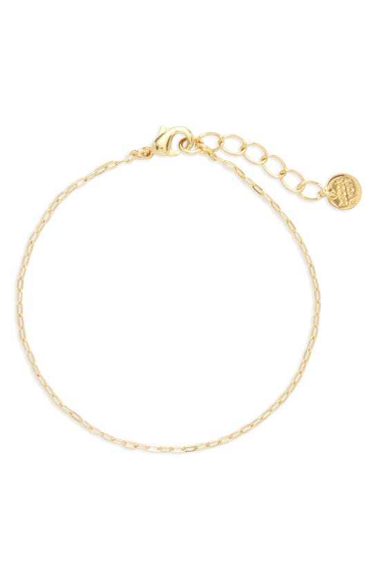Brook & York Carly Chain Link Bracelet In Gold