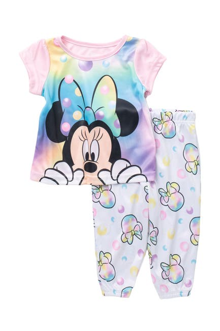 Image of AME Minnie Mouse Pajama Set