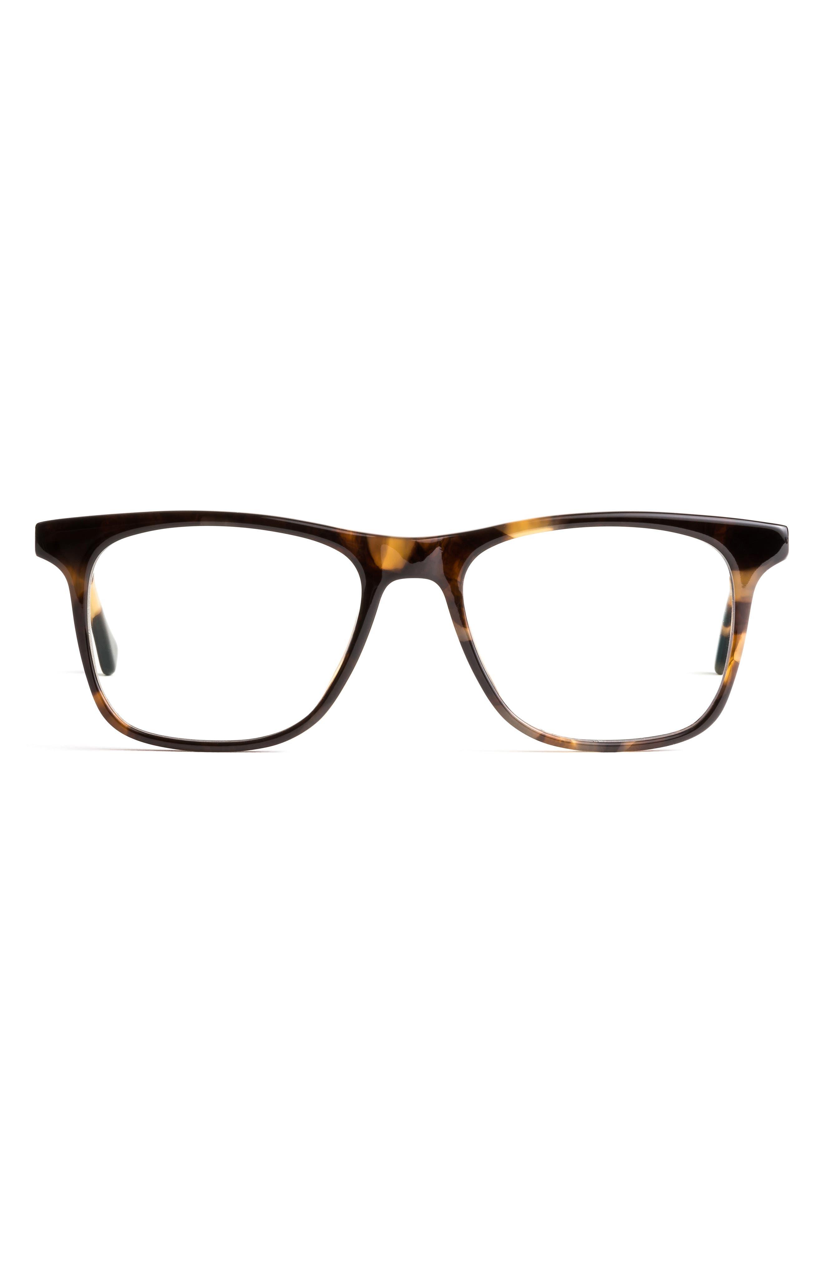 Jemison 52mm Square Blue Light Blocking Glasses