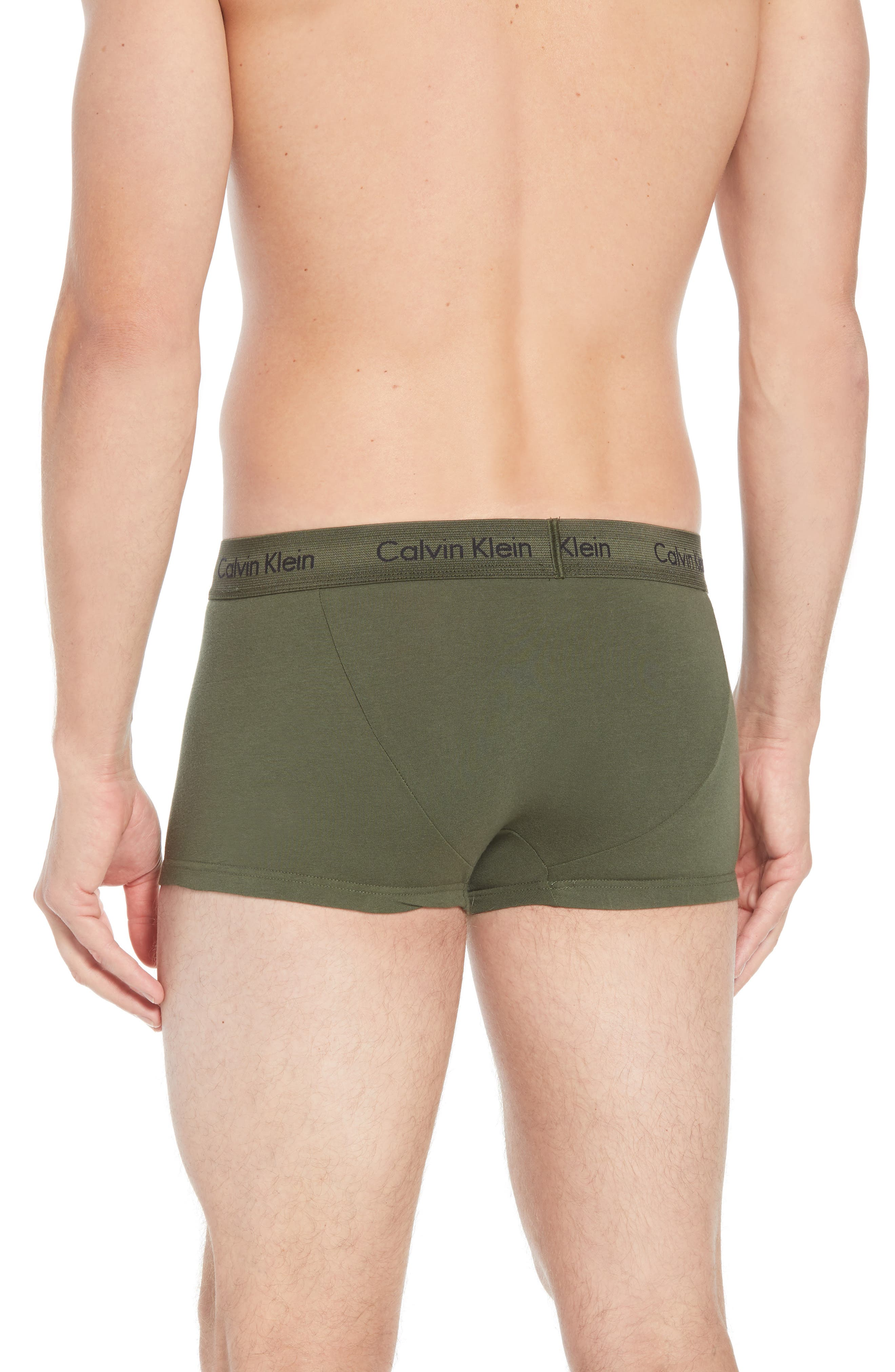 ,                             3-Pack Stretch Cotton Low Rise Trunks,                             Alternate thumbnail 141, color,                             882