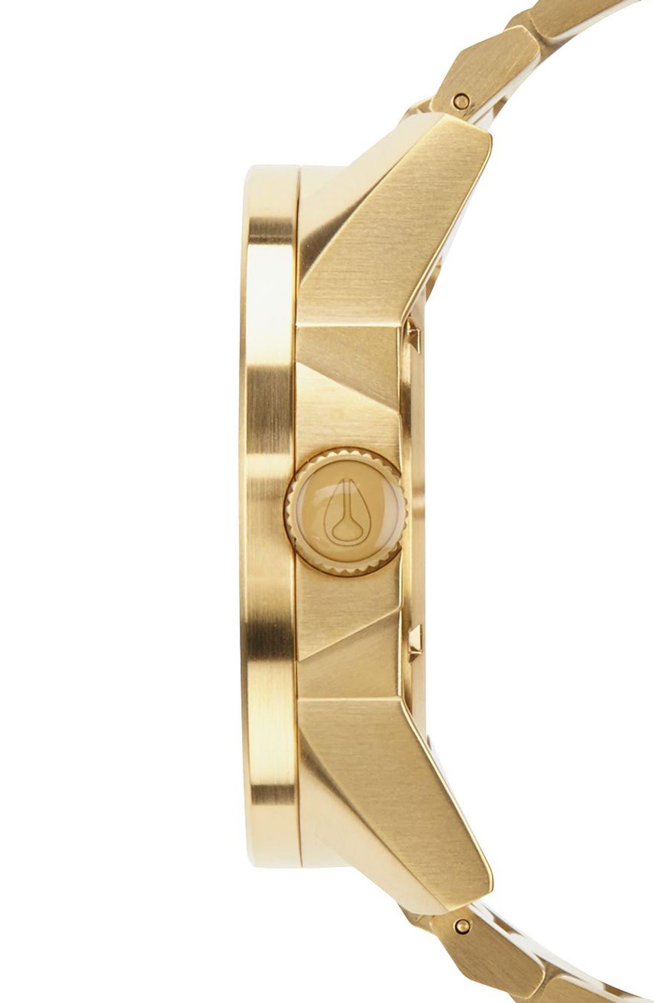 ,                             The Corporal Bracelet Watch, 48mm,                             Alternate thumbnail 3, color,                             GOLD