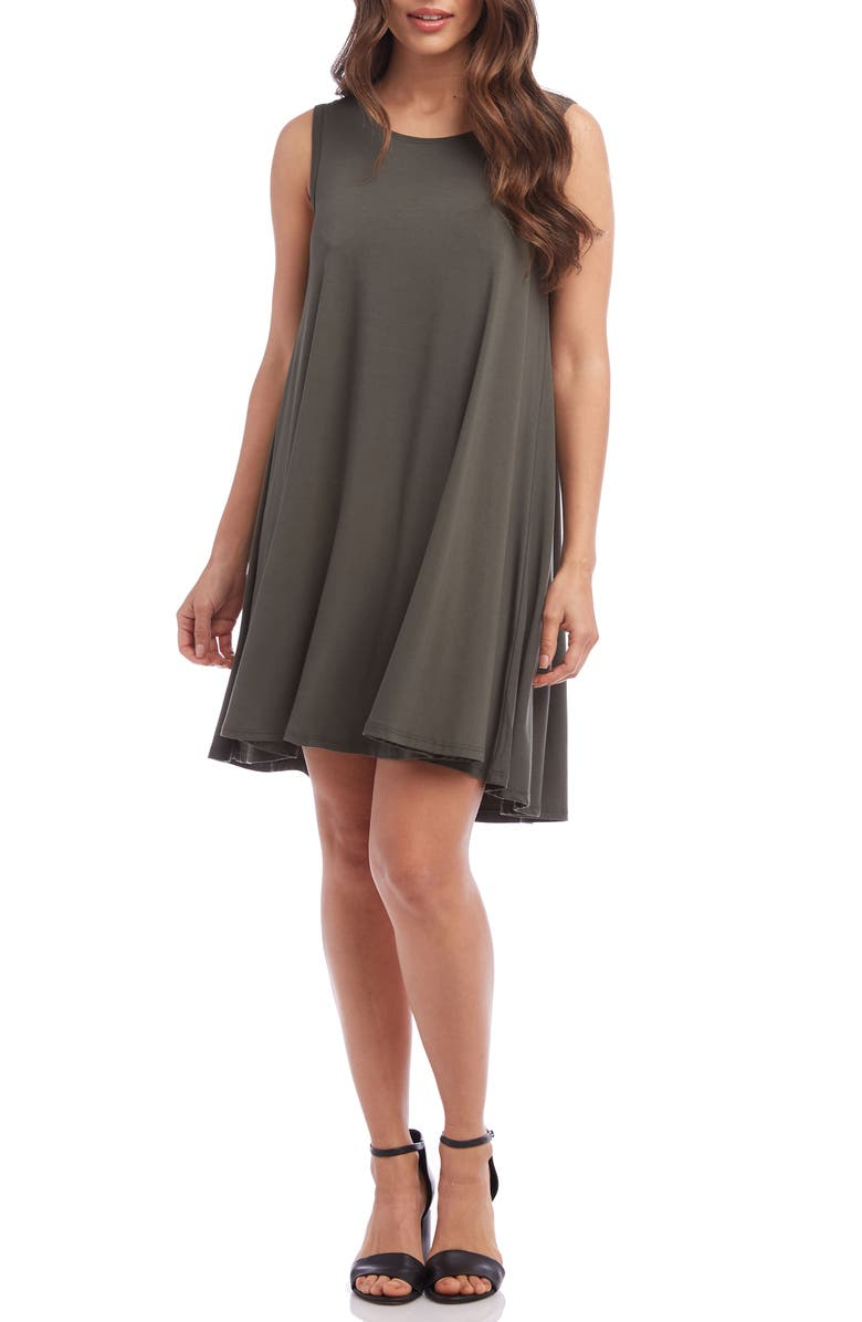 KAREN KANE Maggie Trapeze Dress, Main, color, 313