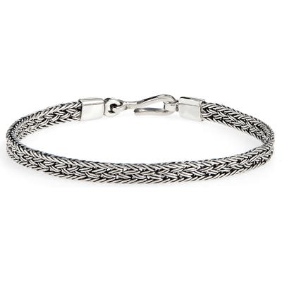 Caputo & Co. Artisan Silver Chain Bracelet