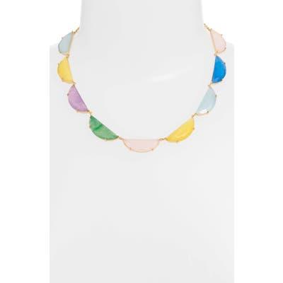 Kate Spade New York Half Moon Scallop Collar Necklace