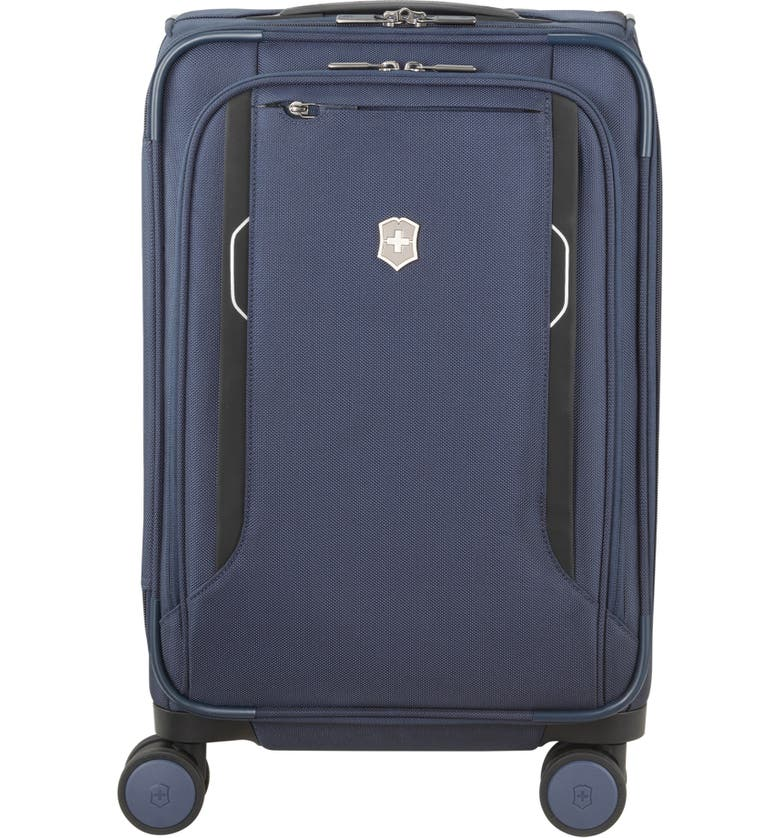 VICTORINOX SWISS ARMY<SUP>®</SUP> Werks 6.0 Frequent Flyer 22-Inch International Spinner Carry-On, Main, color, 498